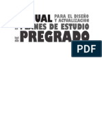 Manual Diseño de Plan Curricular UCOL