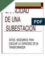 Calculo de Subestacion