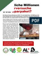 Flyer Demo 21.1.15 Uni Bern