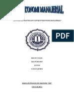 Tugas Resume Pengertian Dan Ruang Lingkup Ekonomi Manajerial