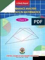01-Performance Analysis Book Class X