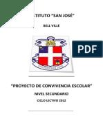 Proyecto de Convivencia Nivel Secundario1