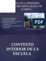 Presentacion Margarita Maza de Juarez