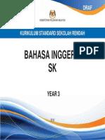 Dokumen Standard Bahasa Inggeris SK Tahun 3
