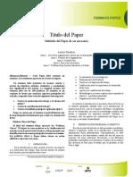 Formato Paper 2012