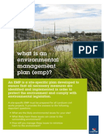 Environmental Management Plan - What is It