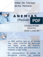 A N E M I a S en Pediatria