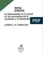 Los Cuerpos Fragmentados - la intervención en lo social