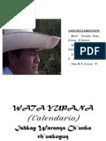 (PDF)Calendario quechua 2014 Revisado