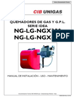 Manual Quemadores Gas