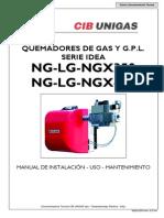 Manual Quemadores Gas