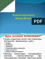 Sistem Informasi Dalam Bisnis - BU