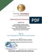Administración Gerencial TIC