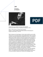 Bach Analyse Cbt Par Glenn Gould