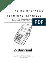 Manual Operacao Terminal Verifone Vx510