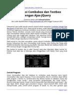 Manipulasi Combobox Dan Textbox Dengan Ajax JQuery (Achmatim.net)