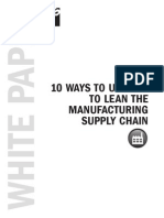 10 Ways Use ERP to Lean Supply Chain