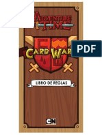Libro de Reglas Adventure Time Card Wars (en Español)- CWC