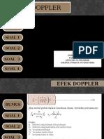 Fisika Efek Doppler 2