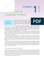 corporate finance intro