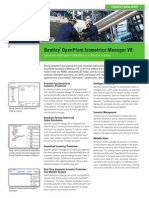 Bentley-openplant Isometrics Manager v8i Product-data-sheet