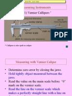 Vernier Callipers