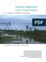 Climate Change Adaptation Strategies for Local Impact