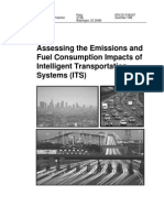 Assessing the Emissions and Fuel Consumption Impacts of ITS