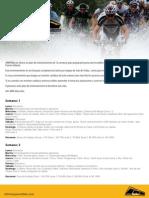 Plan de Entrenamiento para competencias en ciclismo de Montaña