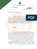Denuncia del fiscal Nisman