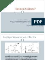 Penguat Common Collector Presentasi Singkat