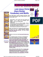 Enoch and Jesus Christ Share Similar Vocabulary and Motifs