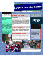 Adharshila Learning Centre Newsletter_July - December 2014
