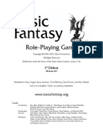 Basic Fantasy RPG Rules r62