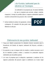 Programa de Gestion Ambiental en Nicaragua