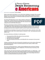 Deeds Always Boomerang - Noble Americans