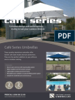 cafe series residential umbrellas brochure 2011