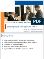 0814 Enabling REST Services With SAP NetWeaver Process Integration