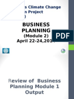 Business Planning-Module 2