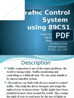 Traffic Control System using 89c51 and assembly language