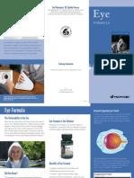 Eye Formula Trifold Brochure