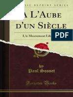 A LAube Dun Siecle