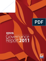 Kenya Annual Governance Report, 2011
