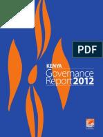 Kenya Annual Governance Report, 2012