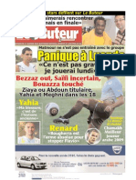 LE BUTEUR PDF du 17/01/2010