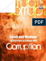Small and Medium Enterprises in Kenya and Corruption