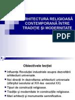 ARHITECTURA RELIGIOASĂ CONTEMPORANĂ.ppt
