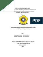 Cover Proposal Kerja Praktek Mk