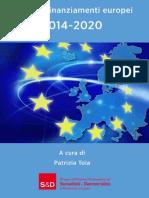 Fondi Europei patrizia toia