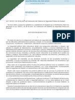 LEY 15-2012, De 28 de Junio, De Ordenación Del Sistema de Seguridad Pública de Euskadi